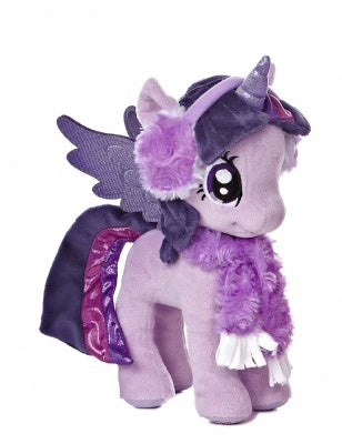 Princess Twilight Sparkle Winter Outfit Plush (My Little Pony)
