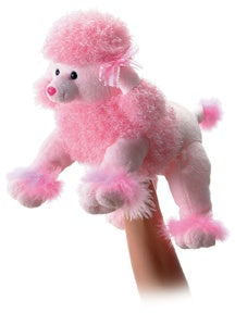 Fancy the Pink Poodle (Hand Puppet)