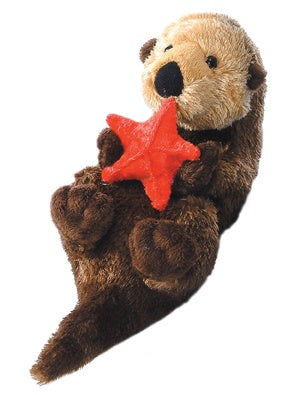 Otto the Otter w/ Starfish (Mini Flopsie)