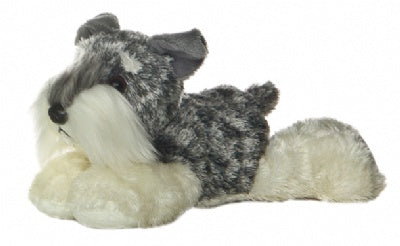 Stein the Schnauzer Dog (Mini Flopsie)
