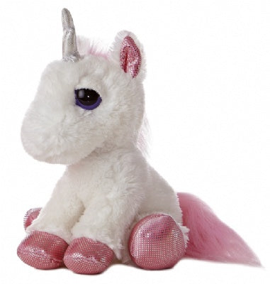 Heavenly White Unicorn (Dreamy Eyes)