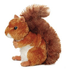 Nutsie the Brown Squirrel (Mini Flopsies)