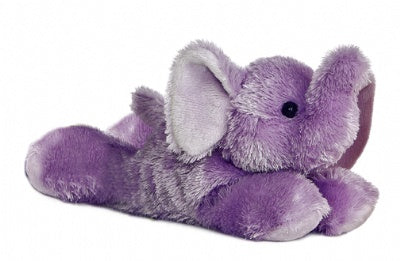 Purple Elephant (Mini Flopsie)