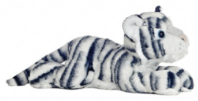 King the White Tiger Stuffed Animal