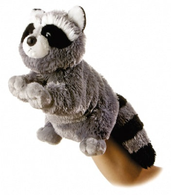 Bandit the Plush Raccoon (Hand Puppet)