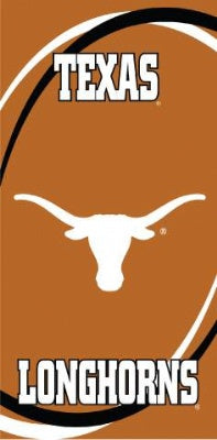 Texas Longhorns Swoosh Beach Towel