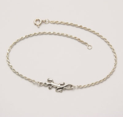 Single Lizard 9.5-inch Anklet