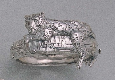 Lazy Jaguar Bangle Bracelet