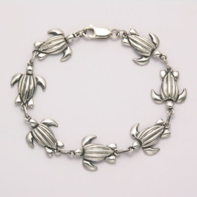 Abstract Sea Turtle Link Bracelet