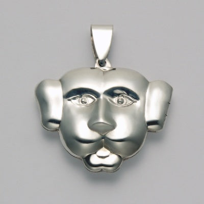 Dog Face Locket Pendant