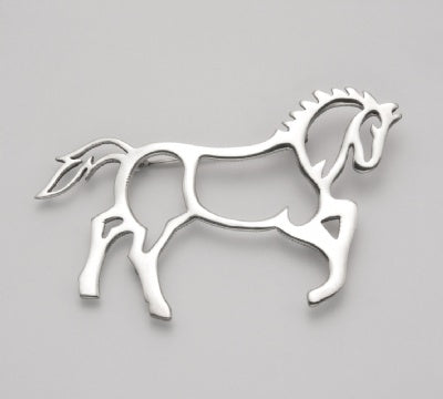 Horse Silhouette Pin