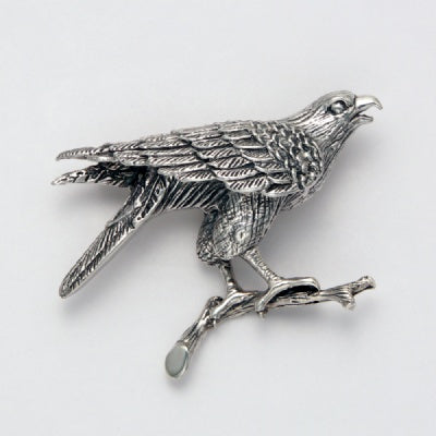 Sitting Eagle Pin