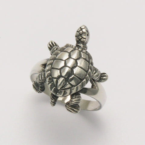 Movable Turtle Ring
