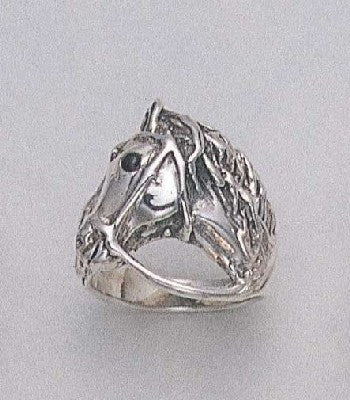 Bridled Horse Ring