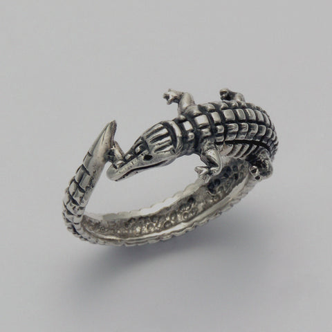 Alligator Wrap Around Ring