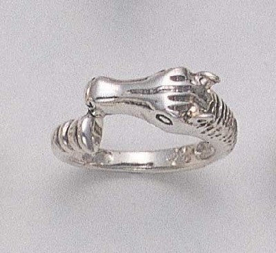 Smooth Horse Ring (Large)