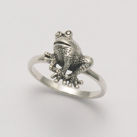 Front View Frog Ring