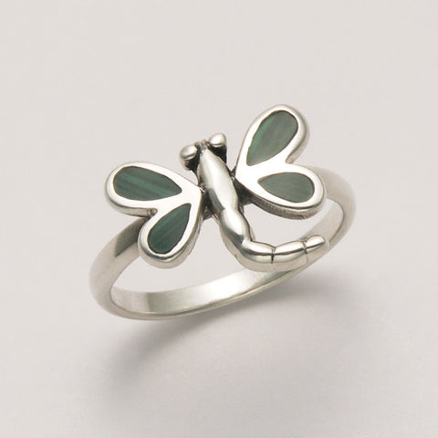 Small Dragonfly Ring