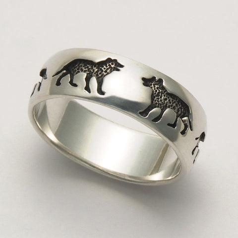 Wolf Imprint Ring