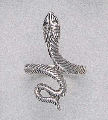 Primitive Snake Ring