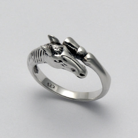 Smooth Horse Ring (Small)