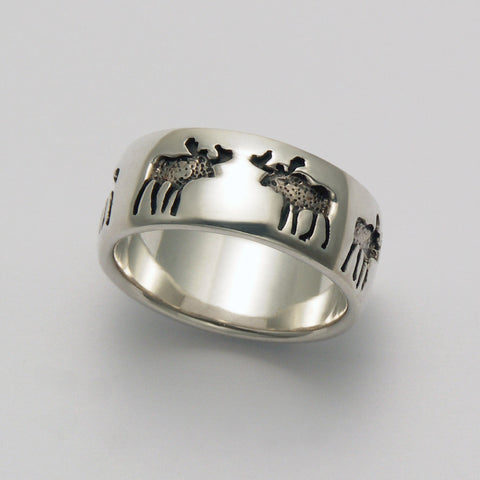 Moose Impression Ring