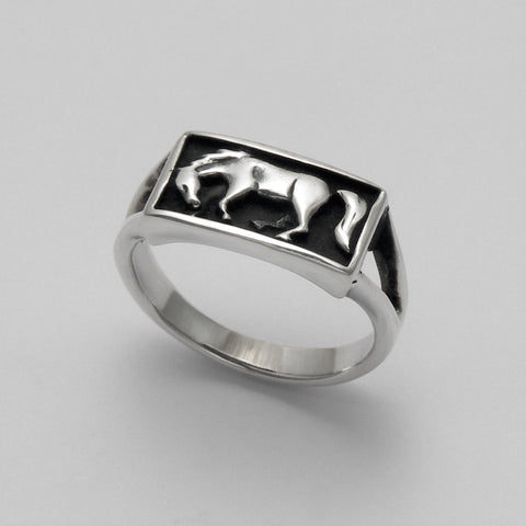 Boxed Horse Ring
