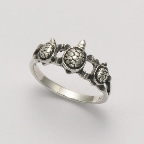Turtle Band Ring