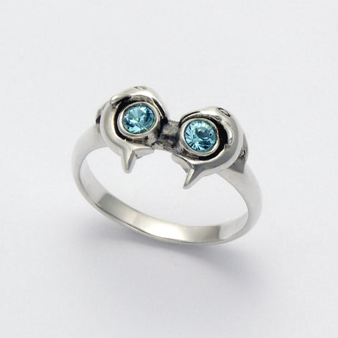 Dolphin Eyes Ring