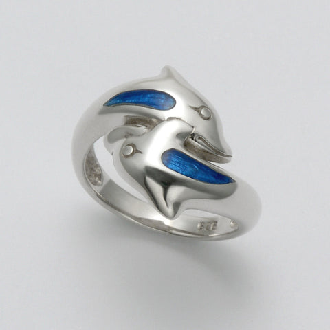 Blue-Back Dolphins Ring