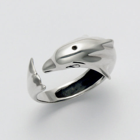 Dolphin Wrap Ring