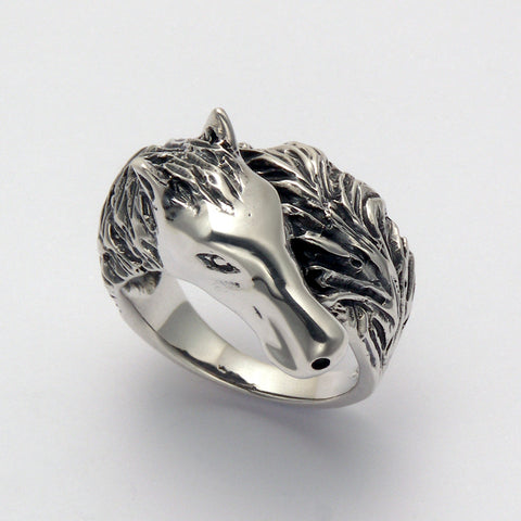 Horse Wrap Ring