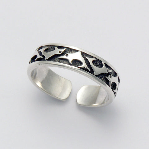 Dancing Dolphins Ring