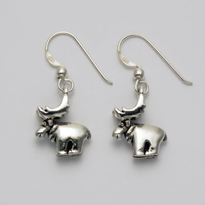 Smooth Moose Earrings