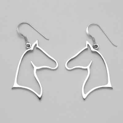 Horse Silhouette Earrings (Large)