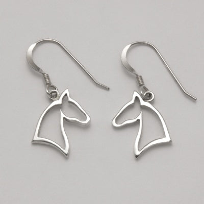 Horse Silhouette Earrings (Small)