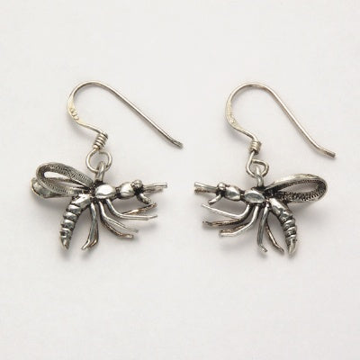 Flying Insect Earrings