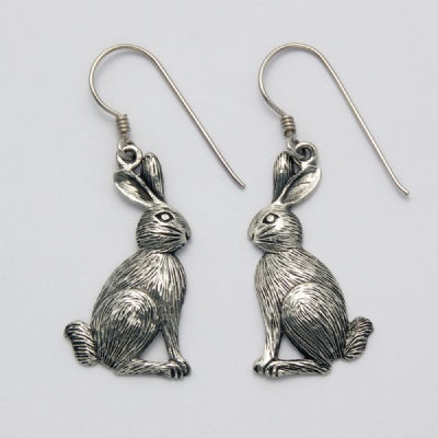 Large Sitting Rabbit Earrings