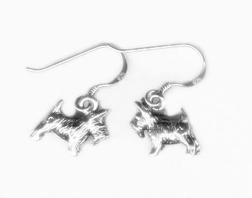 Dog Hook Earrings