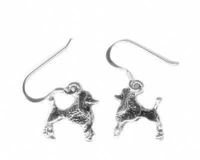 Poodle Hook Earrings