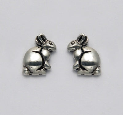 Small Sitting Bunny Earrings