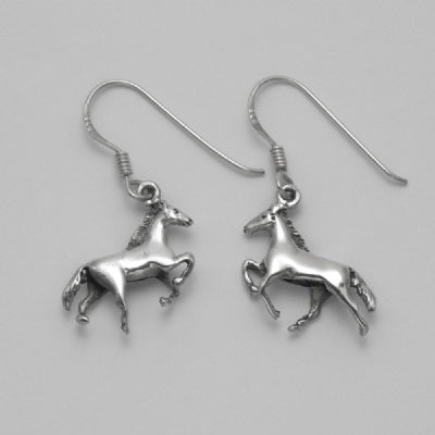 Rearing Horse Earrings