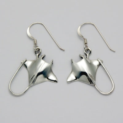 Stingray Hook Earrings