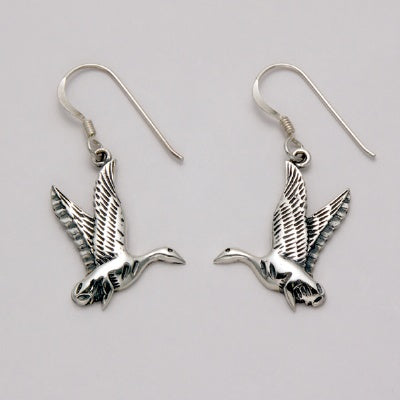 Flying Goose Earrings