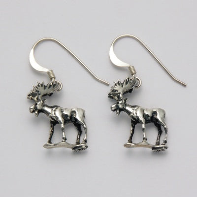 Standing Moose Earrings