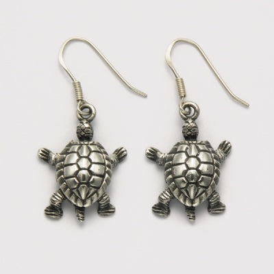 Movable Turtle Earrings