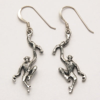 Chimpanzee Earrings