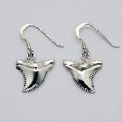 Tiger Shark Tooth Earrings