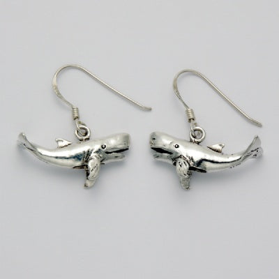 Whale Earrings