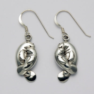 Manatee Pair Earrings